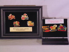 McDonald's Pins McMemories 1997 Framed Classic 7 Piece Collection Set RARE