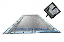20x45 Rectangle 15 YR WARRANTY Inground Swimming Pool Winter Cover