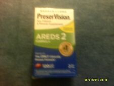 Bausch+Lomb PreserVision Eye Vitamin & Mineral Supplement Areds2 120 ct 8/2018