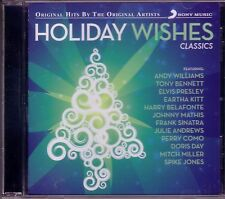 Holiday Wishes Classics Christmas CD ANDY WILLIAMS HARRY BELAFONTE SPIKE JONES