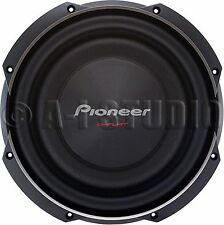 "PIONEER TS-SW2502S4 CAR 10"" IB-FLAT 4 OHM SHALLOW MOUNT SUBWOOFER SUB WOOFER"
