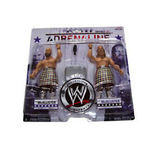 WWF WWE TNA Adrenaline Wrestling The Highlanders 2 figure box set
