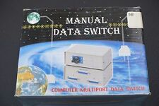 Manual Data Switch Computer Multiport Data Switch DB9-ABCD ( DB9-4 )