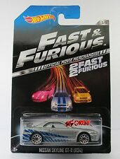 Hot Wheels 2014 U.S. WALMART 2Fast 2Furious Paul Walker Nissan Skyline GT-R R34
