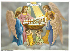 Catholic Print Picture Nativity of the Blessed Virgin Mary with Angels