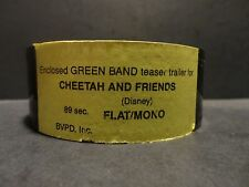 35mm movie trailer Cheetah and Friends Disney preview film cells collectibles