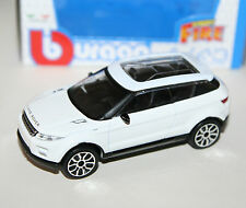 Burago - LAND ROVER LRX 2010 (Evoque) White - 'Street Fire' Model 1:43