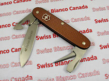 Swiss Bianco Exclusive Victorinox Soldier Chocolate Brown Alox Swiss Army Knife