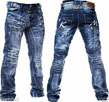 #080 - size w36 l32 Kosmo Lupo straight jeans Pants Jeans Hose Jeans Hose ^^