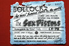 SEX PISTOLS TICKET STUB 24.7.1977. LINKS PAVILION CROMER ROTTEN SID VICIOUS PUNK