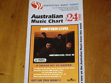 ANOTHER LEVEL - AMR AUSTRALIAN MUSIC CHART  1998 AS NEW
