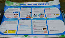 Wallace Cameron First Aid For Eyes H&S A1 Poster 850 x 594mm