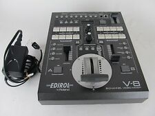 Edirol V-8 8 Channel Video Mixer, Switcher w/ Power Supply