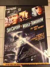 SKY CAPTAIN AND THE WORLD OF TOMORROW MOVIE POSTER. ANGELINA JOLIE