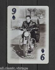 Elvis Presley Roustabout Motor 1964 EPE 2000 Trading Playing Card