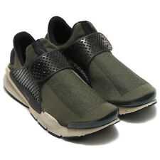 Size 14 Men's Nike Sock Dart Cargo Khaki Rattan Black 819686-300 Light Weight