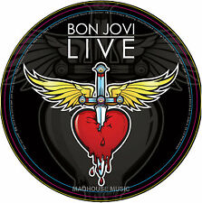 "BON JOVI 10"" LIVE Record Store Day 2013 Picture Disc 2000 Made Worldwide 4 Track"