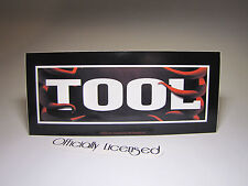 """**OFFICIALLY LICENSED** Tool Band Sticker 