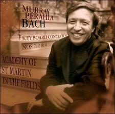 Perahia, Murray-Bach: Keyboard Cts Nos 1, 2 & 4 CD NEW