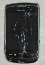 BlackBerry TORCH 9800 4GB Black (AT&T) Smartphone for Repair or Parts  [BT18]