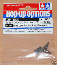 Tamiya 54237 M05 Low Friction King Pin (4 Pcs.) (TA04/TA05/M-05/M06/DF03/TB02)