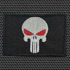 PUNISHER SKULL SWAT MILITARY TACTICAL MORALE PATCH W/HOOK FASTENER