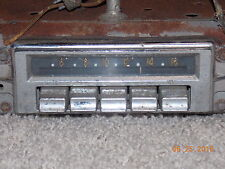 Packard Car Radio - 1950s - Delco Radio Division - Model 7267427