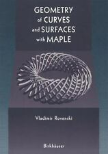 Geometry of Curves and Surfaces with MAPLE-ExLibrary