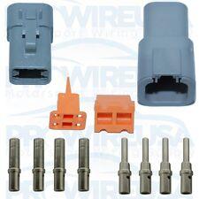 Deutsch DTP 4 Pin Connector Kit 14-12 AWG MSD 8187