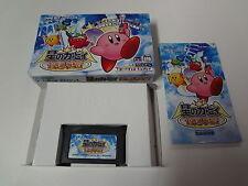 Hoshi no Kirby Kagami no Daimeikyu Nintendo Game Boy Advance Japan
