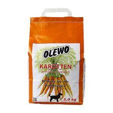 Olewo Karotten Pellets 5 kg, gesundes Beifutter Hunde ab 6. Woche (5 EUR / Kg)