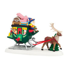 "DEPT. 56 NORTH POLE NORTH POLE SLEIGH RIDE""/ NEW FOR 2014/NIB/4036560/"