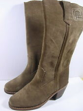 BOTTES GO WEST CUIR TAILLE 37 ANCIENNE VERS 1970/80
