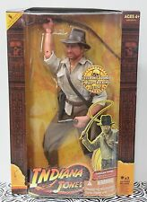 "INDIANA JONES 12"" Whip Sounds Raiders of the Lost Ark Action Figure Doll 2008"