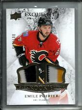 Emile Poirier 15/16 Exquisite Collection Game Used Jersey Patch Rookie #007/149
