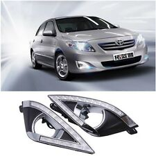 New LED Daytime Running Light Lamp DRL For Toyota COROLLA EX 2013 Fog Lights