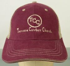 TCC Texoma Cowboy Church Trucker Mesh Hat Cap Adjustable