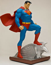 DC DIRECT SUPERMAN Statue FULL SIZE By JIM LEE MIB!! JUSTICE LEAGUE MAN OF STEEL