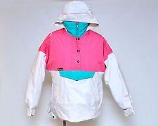 Womens FARWEST Mountain Wear Gore-Tex White Winter Ski Jacket Retro Size Small