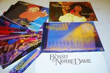 LE BOSSU DE NOTRE-DAME ! w disney jeu 10 photos cinema lobby cards animation