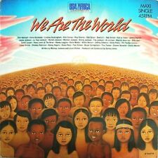 USA FOR AFRICA 12'' We Are The World - EUROPE