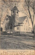 Roselle Park New Jersey Methodist Episcopal Church Antique Postcard (J11227)