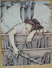 """SLEEPING ANGEL"" Limited Lifetime Edition Art Print by C Root, Prison Inmate"