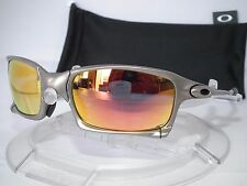 NEW CUSTOM OAKLEY X SQUARED SUNGLASSES PLASMA / RUBY IRIDIUM .. X-METAL
