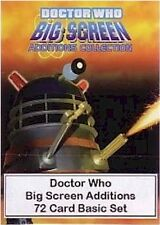 Doctor Who Big Screen Additions - 72 Card Basic/Base Set - Dr Who