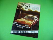 406KA2 Prospekt (1972) Ford Schweiz: Consul, Granada, Escort, Cortina, Capri...