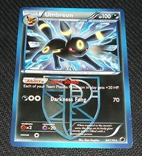 Umbreon 64/116 BW Plasma Storm Set Rare Pokemon Card NEAR MINT