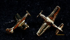P-51 MUSTANG FIGHTER POST EARRINGS MADE IN US AIR FORCE VETERAN PIN UP GIFT MOM