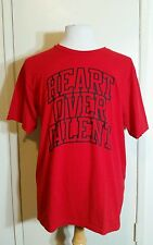 Men's Adidas The Go-To Performance Red Tee T-Shirt Heart Over Talent Size XL