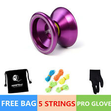 Professional Magic YOYO Ball T5 Overlord Aluminum Alloy Kids Toys Gift Purple F